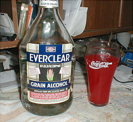 how to make grain alcohol